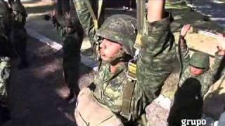 Muestra Sedena entrenamiento militar