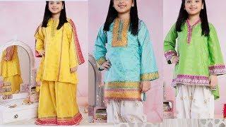 little girl dresses design  5 to 10 years/semi formal dresses for girls Hd 001