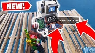 FORTNITE DEV TOOL? SECRET GLITCH FOUND!