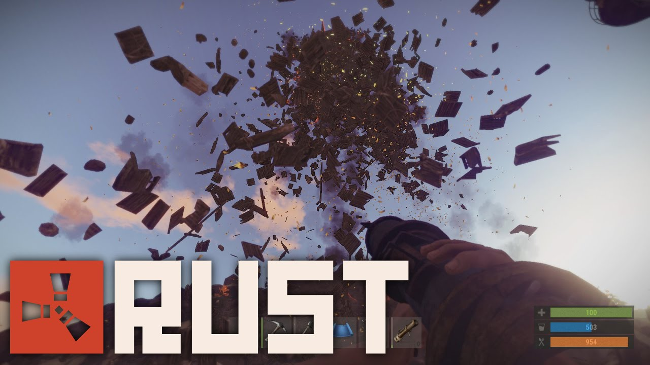 rust how to break turret