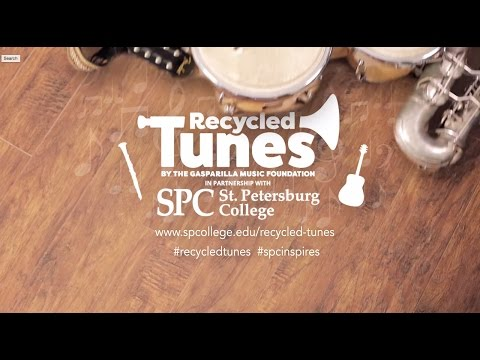 Recycled Tunes Instrument Drive