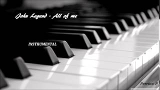 John Legend - All of me (instrumental)