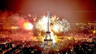شاهد احتفالات رأس السنة 2019 في باريس  Paris celebration