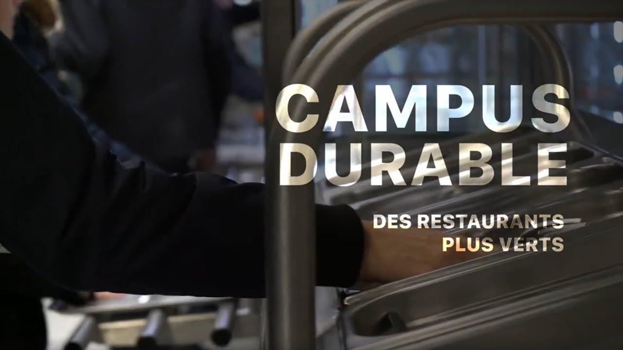 Des Restaurants plus verts