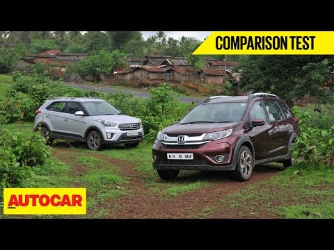Honda BR V CVT vs Hyundai Creta AT Comparison Test Autocar India