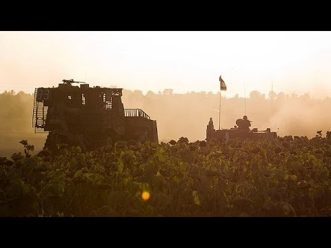 Exchanges of Fire Continue Across Israel-Gaza BorderExchanges of ...