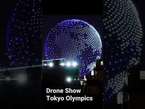 Tokyo-Olympics-Drone-Show-PREVIEW-of-Opening-Ceremonies