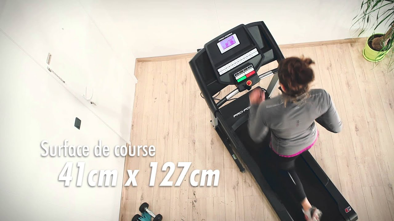 Tapis De Course Proform 5 0 Zlt Petl59815 Youtube