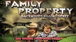 Family Property: Backwoods Killing Spree - Stars of The Walking Dead and Cabin Fever!