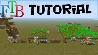 Minefactory Reloaded (mfr) Tutorial: Farms (ftb 1.6.4)