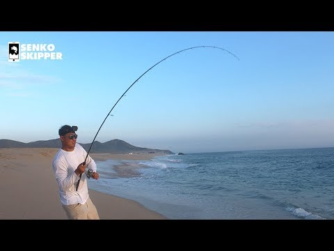 Surf Fishing The Mexican Desert: This Is NUTS! (Pt 2)