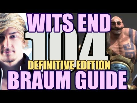 Siv HD - Best Moments #104 - WITS END BRAUM GUIDE: DEFINITIVE EDITION