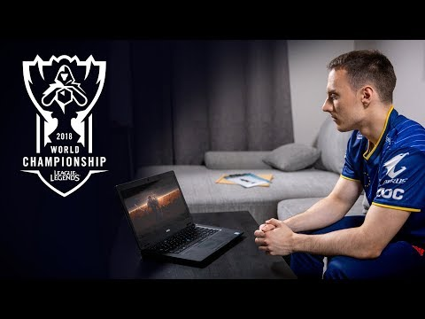 Perkz reacts to RISE and the G2 Yasuo Action Figure | Worlds 2018