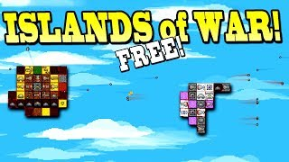 *FREE GAME* BUILD A FLOATING BATTLE ISLAND! - Islands of War Gameplay First Look