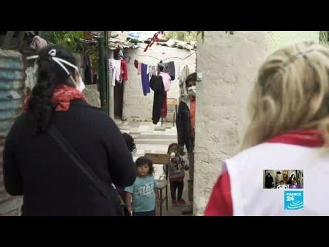 Covid-19 en Argentine : une situation inquiétante dans les quartiers les plus pauvres