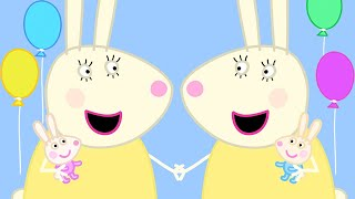 Peppa Pig Official Channel  Miss Rabbit with Baby Rabbits