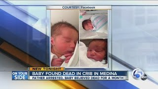 Eric Warfel: Father arrested after body of decomposed child found in Medina apartment