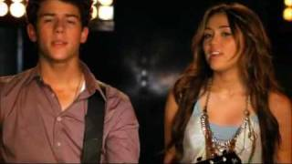 send it on official music video jonas brothers demi lovato selena gomez and miley cyrus