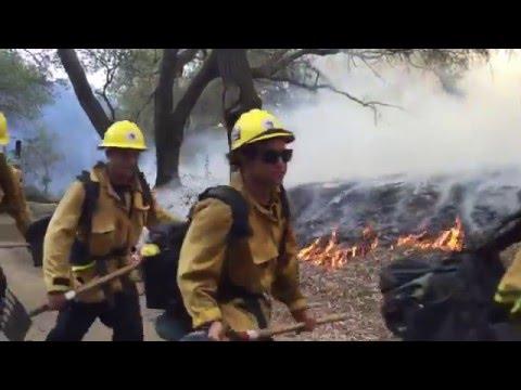Ventura County Fire Crew Video 2015