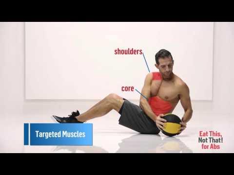 How to Do Seated Medicine Ball Twists