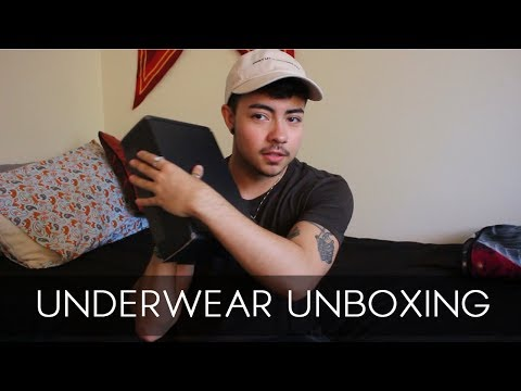 UNBOXING // MEN'S UNDERWEAR
