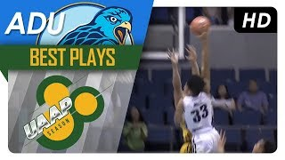 Dunk of the year? tyrus hill posterizes jeepy faundo | adu | best plays