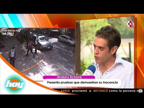 ¡Andoni Echave demuestra que no es el agresor de Andrea Noel! | Hoy