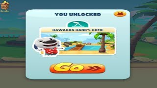 TOM GOLD RUN HD FULLSCREEN^Neon Angela Home Built-UNLOCKED Hawaiian Hank Home*GAMEPLAY FOR KID #111