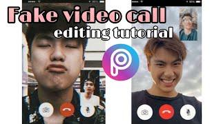 Fake video call edit | PicsArt Tutorials ft. Ohm Pawat