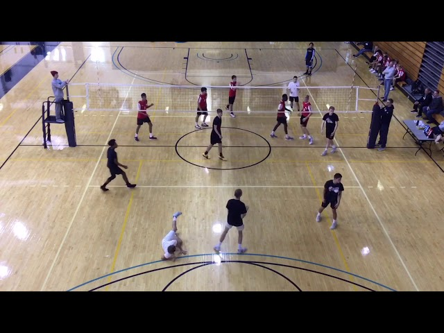 Mark Berry (Outside Hitter) Volleyball Highlights, Class of 2020