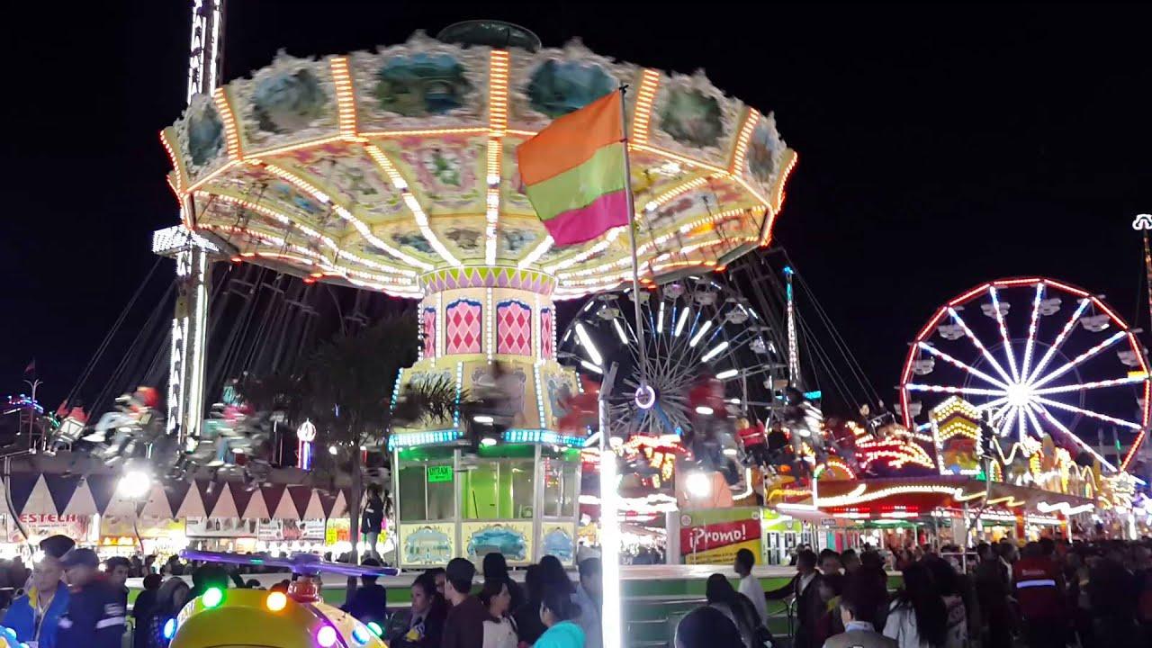 Juegos Mecanicos Feria Leon 2016 Youtube