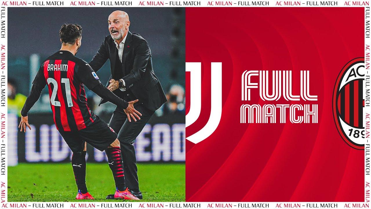 Download Full Match | Juventus 0-3 AC Milan | Serie A TIM 2020/21