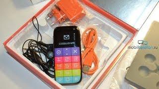 распаковка Just5 CP10s BestInSpace (unboxing): телефон с большими кнопками