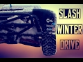 TRAXXAS SLASH VLX ON SNOW | Gophy