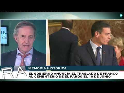 'Sánchez se va de La Moncloa antes que Franco del Valle de los Caídos'
