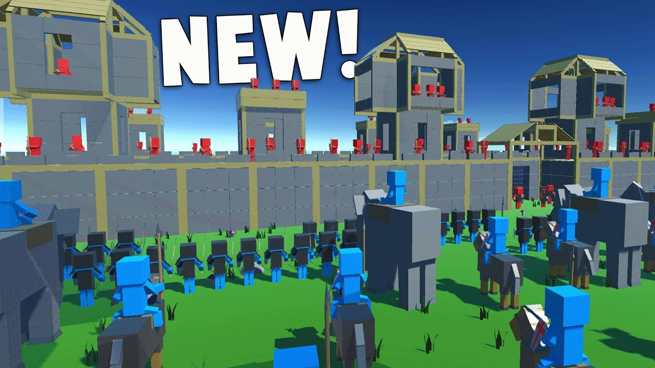 Ancient Warfare 2 epic siege battle, new weapons! - ancient warfare 2 new update gameplay