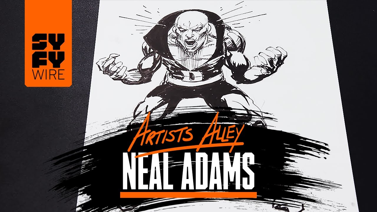 Neal Adams Sketches Deadman | Artists Alley | SYFY WIRE - YouTube