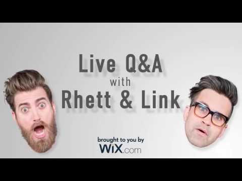 Rhett And Link's Wix Livestream!