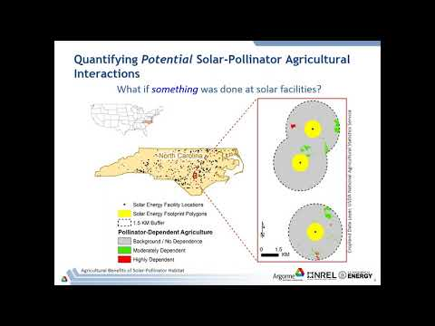 Benefits of Pollinator Habitat at Utility-Scale Solar Facilities – October 26, 2017