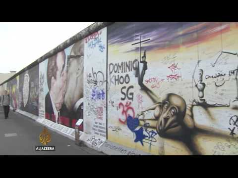 Berlin Wall a tourist hit 25 years after fall