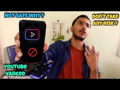 YouTube Vanced Safe OR Not ? THIS NEEDS TO STOP 😠!! For all YouTubers