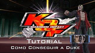 Tutorial KOF Maximum Impact: Como Conseguir a Duke