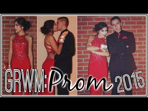 GRWM: Junior Prom 2015! | Xlivelaughbeautyx