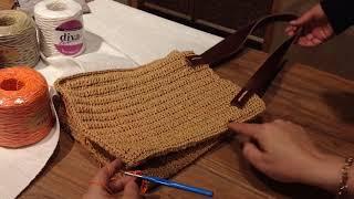 Üreten Ellerimiz'den gökkuşağı çanta anlatımı video 2