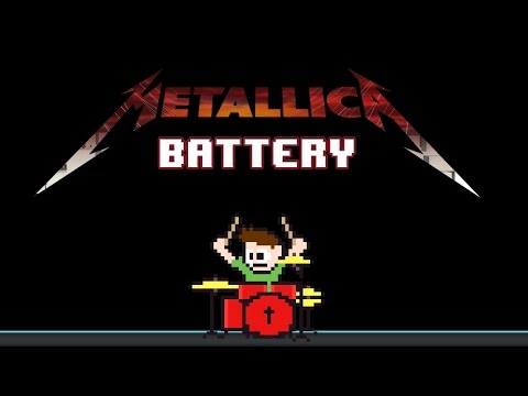 Metallica - Battery (Drum Cover) -- The8BitDrummer