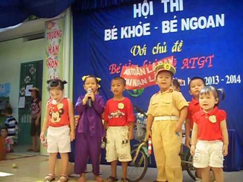 "hoi thi""BE KHOE BE NGOAN"" cuatruong MN VINHTRUNG nam hoc 2013-2014 .voi chu de ""ATGT"""