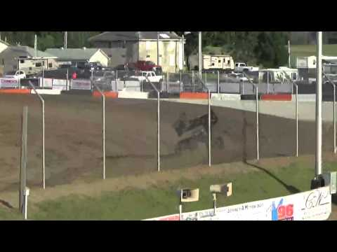 5.29.15 World of Outlaws Sprints Qualifying at Attica Raceway Park