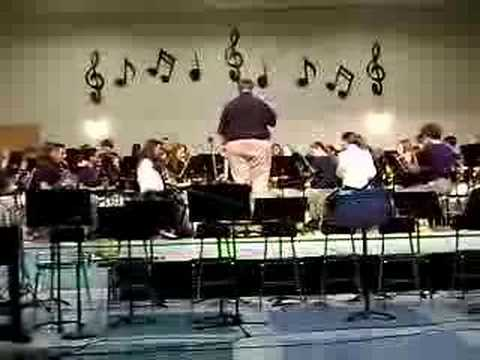 Stephen Decatur Middle School Band Play Simpsons