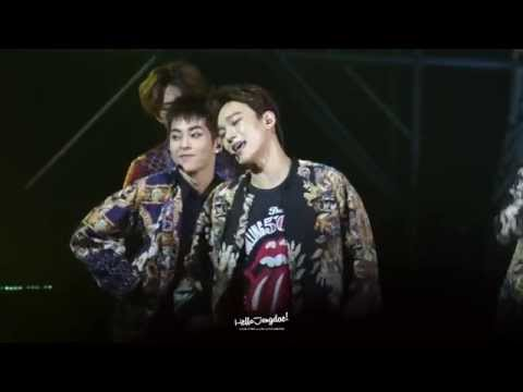 140921 EXO TLP In Beijing - Dance Battle + XOXO (CHEN Cut)