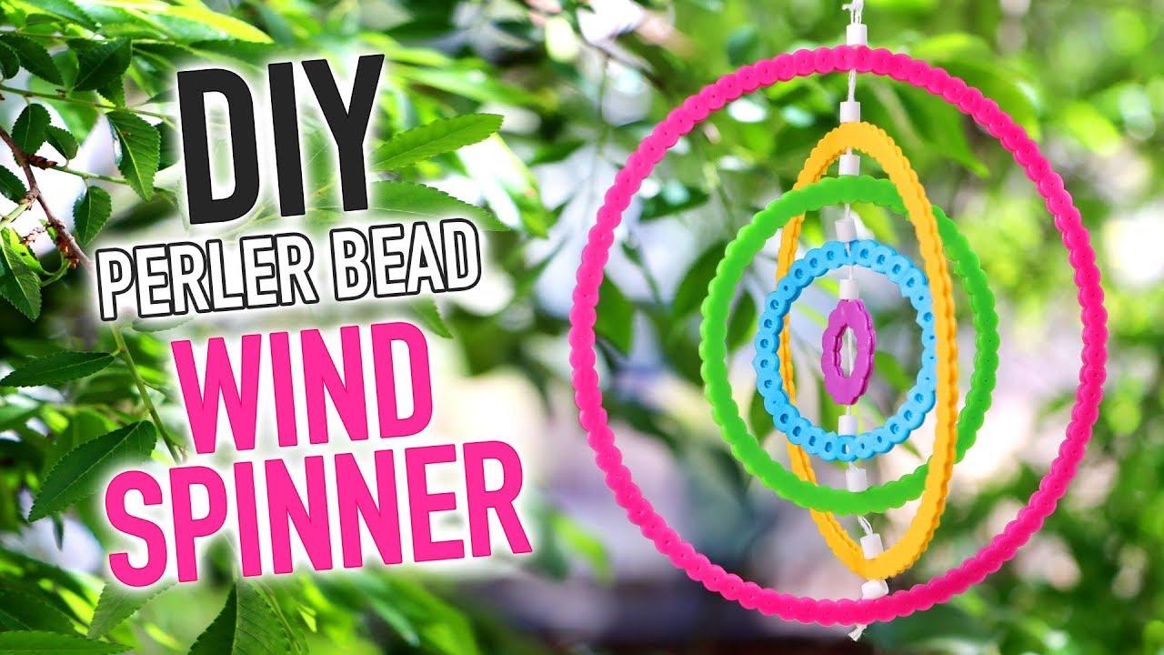 DIY Perler Bead Rainbow Wind Spinner - HGTV Handmade - YouTube